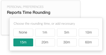 Time rounding