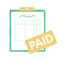Create invoices icon