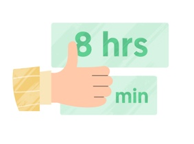 Timesheet approval icon