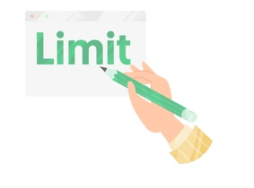 Set limits icon