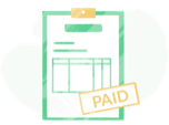 Everhour invoicing icon