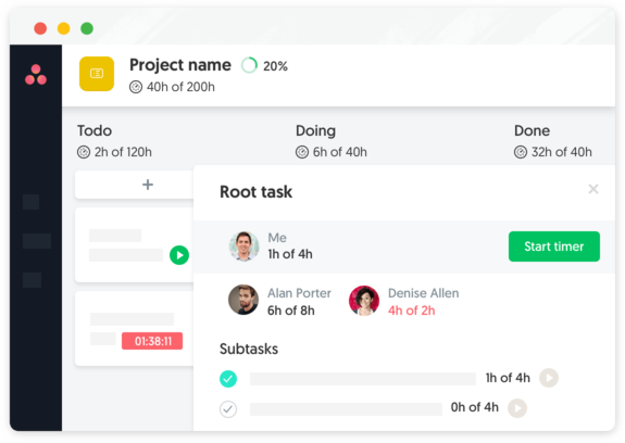 Everhour — Time Tracking, Scheduling, Budgeting & Expenses