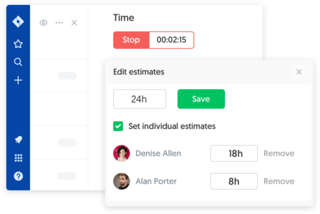 Jira time tracking and estimates