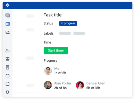 Jira time tracking employees