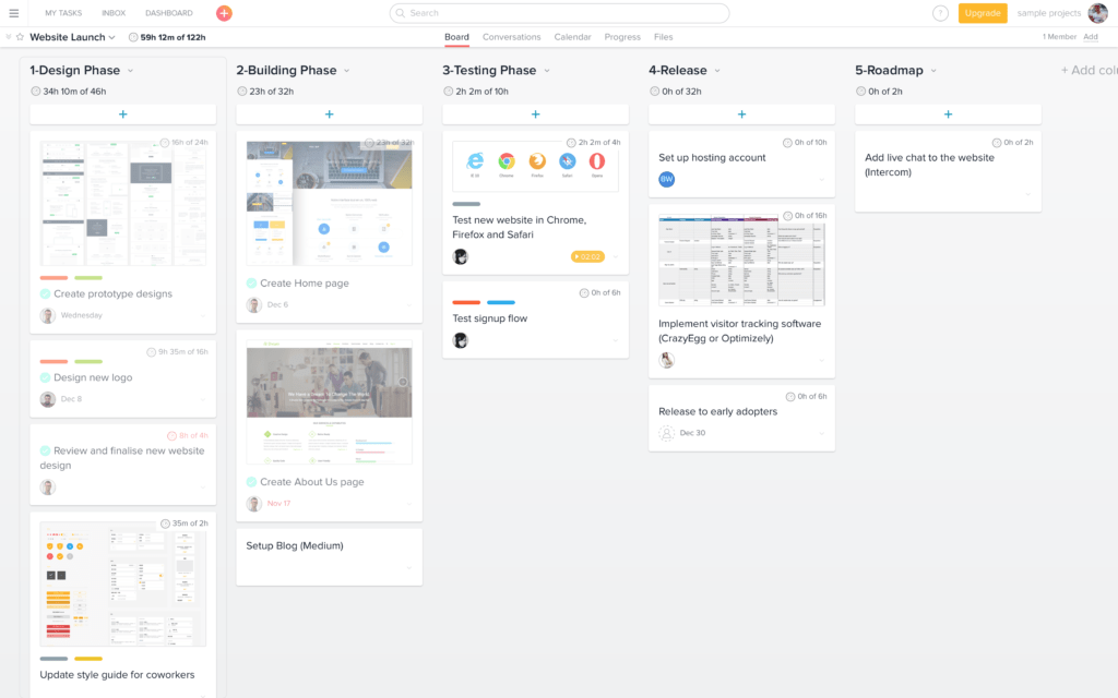 Everhour for Asana Boards