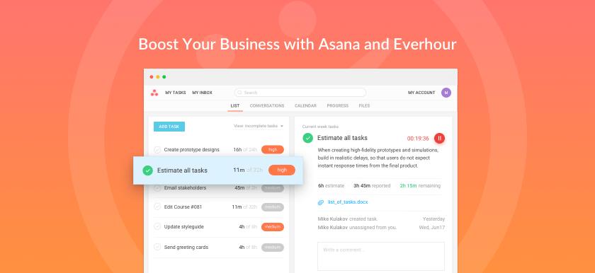 asana time tracking