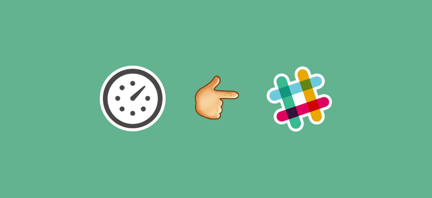 Slack time tracking integration with Everhour