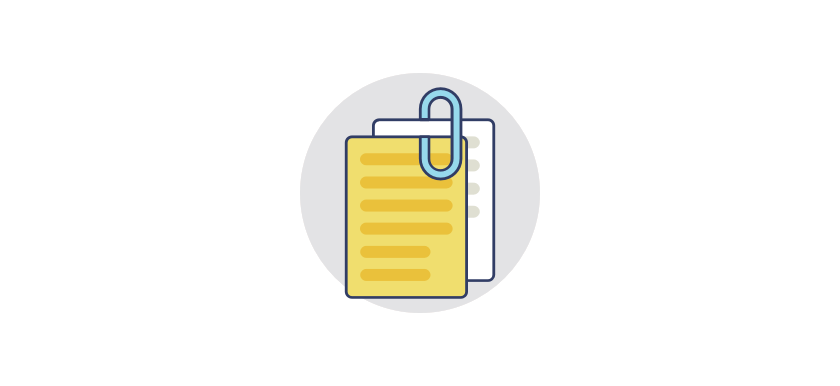 Attach files to expenses - Everhour blog cover image